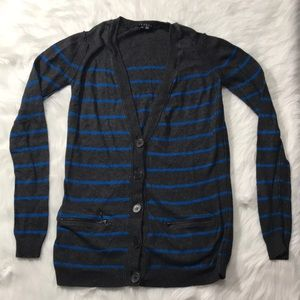 Theory Lonnie's cotton cashmere cardigan small